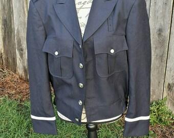Vintage fechheimer firemans jacket/union made/vintage fireman jacket/fireman jacket/fechheimer/unio made jacket/fireman costume/mens jacket