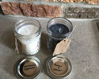 Hand-Poured Soy Candle - 8oz.