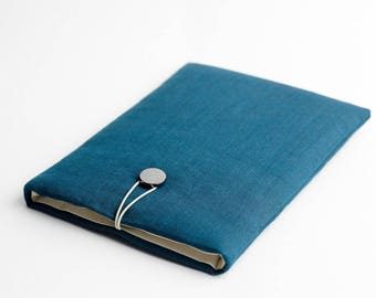 Macbook Pro 13 sleeve, Surface Laptop case, Macbook Pro 2017 13 case, Macbook sleeve 13, dark teal, available with a pocket