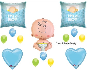 It's A Boy  Balloons Decorations Supplies Baby Shower