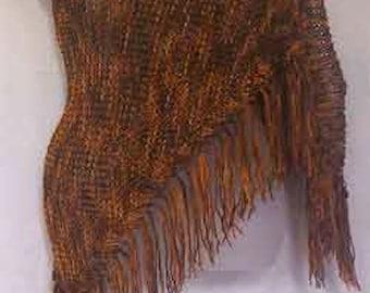 Nylon Handknit Shawl