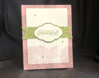 Thinking of Her, To Cheer Her, Best Friend Card, Friendship Card for Her, Lost Loved Ones Card, Sympathy Card, Pet Sympathy, Sympathy Her