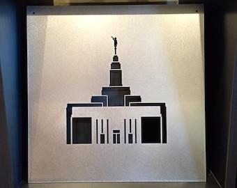 Metal Sign: Draper Temple