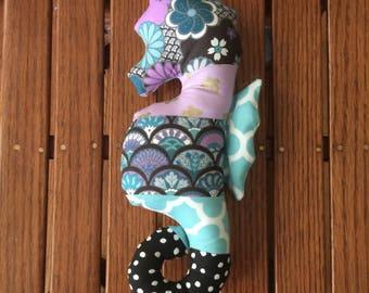 Stuffed seahorse