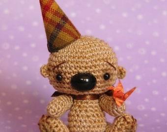 PDF PATTERN - Crochet Miniature Amigurumi Bear - Amigurumi Tutorial