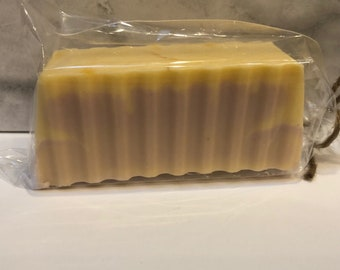Honey & Almond all natural goats milk soap bar