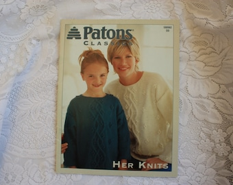 Patons Knitting Classic Sweaters for Her 500982 DD