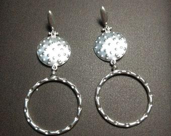 Serie Danae aros. 925 sterling Silver Earrings Roman Anticjewelry Etnic
