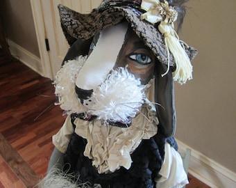 Sierra High The Large Rabbit Art Doll OOAK Handmade~ ,