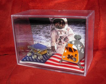 N.A.S.A Space Probe/Ship (inspired by Display)both ship's Brand New...Ready 2 Ship out....