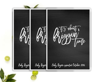 Funny Pregnancy Announcement Cards // Pregnancy Humor Printable // Adoption announcement // Long Wait Printable Pregnancy Announcement
