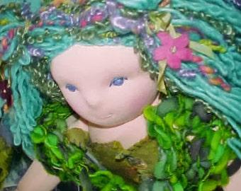 Mermaid Waldorf Doll, several sizes, custom order, Steiner Inspired