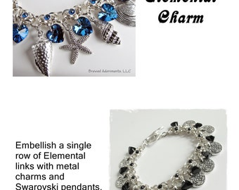 Tutorial Elemental Chain Charm or Single Row