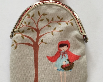 Coin purse little Red Riding Hood