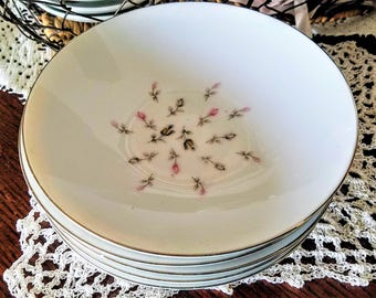 Petite Bouquet China Fruit/Dessert Bowls