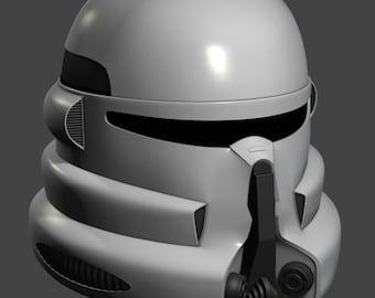 Clone Paratrooper helmet 3d printable model