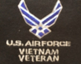 Airforce Vietnam Veteran Embroidered Sweat Shirt