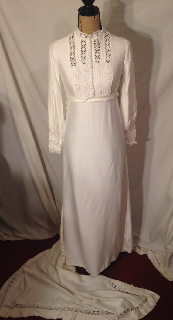 Vintage Handmade Wedding Dress