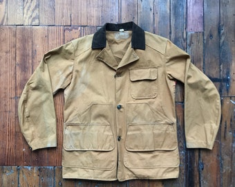 """1960's Small Bird Hunting """"Sta-Dri"""" Jacket by Brown's Beach Jacket Co."""