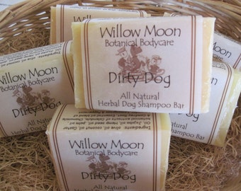 Dirty Dog all Natural Herbal Dog Shampoo Bar