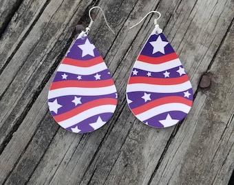 Memorial Day Earrings