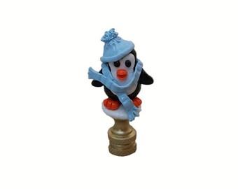 Penguin Lamp Finial....Custom made to order.