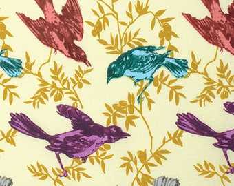 Chatterbox Guilded  PWAH079 - HONOR ROLL - Anna Maria Horner - Free Spirit Fabric - By the Yard
