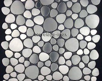 Mosaic Pebble Japanese stainless steel