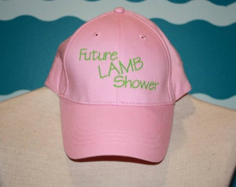Future Lamb shower Baseball cap - Youth baseball hat - Future livestock shower baseball hat - Embroidered baseball hat - Youth ball cap