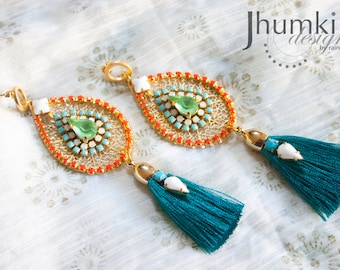 Bindu /// Earrings by Jhumki Designs