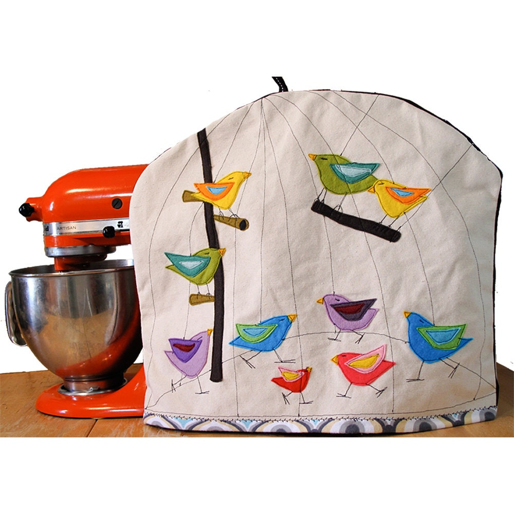 Made To Order Standard Kitchen Aid Mixer Cover With Felt