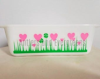 Lucky In Love Pyrex Decal - Decal Only Dish Not Included