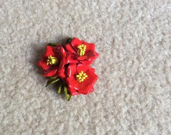Flowered Brooch