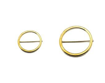High Noon Circle Pin