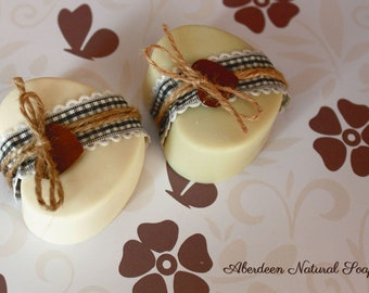 Natural Soaps for events-heart shape-100 uds