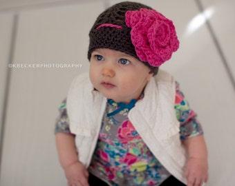 baby hat,girls winter hat,   girls hat, baby girl hat, little girls hat, crochet  newborn hat baby girl winter hat,, girls winter hat