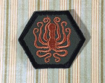 STEAMPUNK Merit Badge - Kraken Octopus Steampunk Scouts