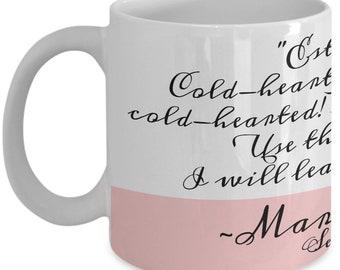 Jane Austen Book Gifts - Sense and Sensibility Funny Quote Mug