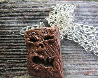 Evil Dead Necronomicon Necklace