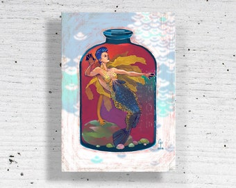 Bottled Rockfish Metal Print