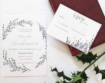 Jane Wedding Invitation Suite