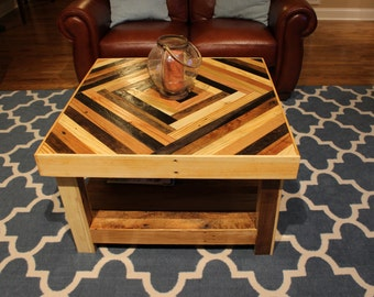 Two Tier Square Coffee Table