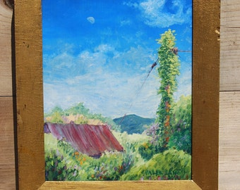 Oil Painting, Pennsylvania Landscape