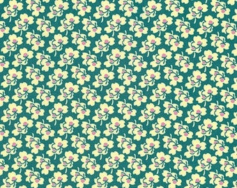 Pansies in Ivory from the Eternal Sunshine collection by Amy Butler for Free Spirit fabrics
