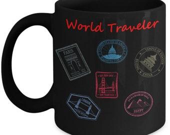 World Traveler Coffee Mug