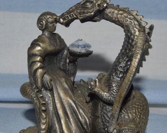 Tudor Mint - Myth & Magic,  The Dragons Kiss # 3030 by Roger Gibbons