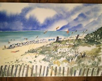 Seaside Florida - Digital Print