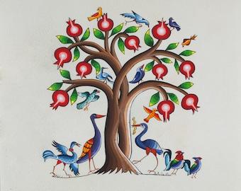 "Postcard ""Tree of life"""