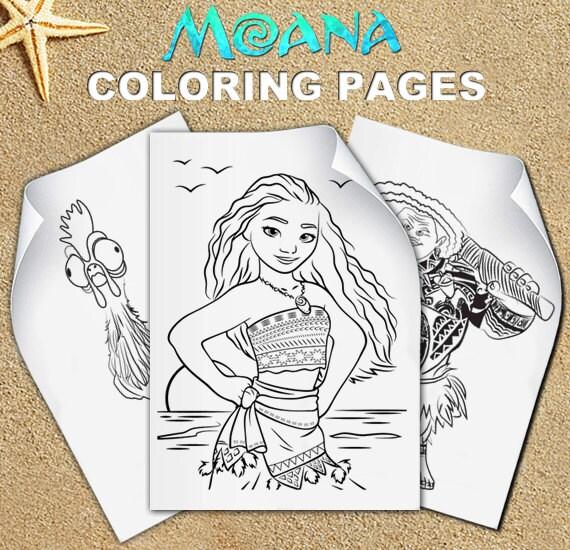 moana coloring pages pdf - moana coloring pages moana birthday moana party vaiana