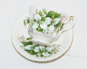 Royal Albert Trillium Teacup and Saucer - 1610